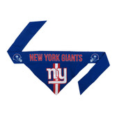 New York Giants Dog Bandanna Size L