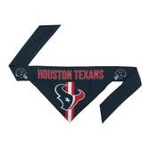 Houston Texans Dog Bandanna Size L