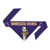 Minnesota Vikings Dog Bandanna Size S