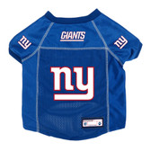 New York Giants Pet Jersey Size L