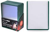 Ultra Pro 3x4 Standard Size Top Loader - Green Border