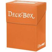 Ultra Pro Solid Orange Deck Box