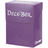 Ultra Pro Solid Purple Deck Box