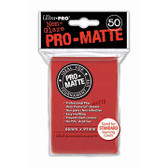 Ultra Pro Pro-Matte Red Deck Protector  (12 Packs Per Display)