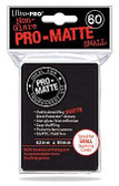 Ultra Pro Pro-Matte Black Deck Protector- Small Size (60 Sleeves)