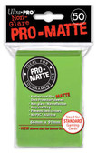 Ultra Pro Pro-Matte Lime Green Deck Protector