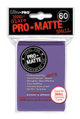 Ultra Pro Pro-Matte Purple Small Size Deck Protector 60-Count Pack