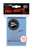 Ultra Pro Pro-Matte Light Blue Small Size Deck Protector 60-Count Pack