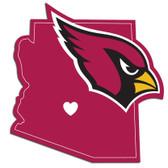Arizona Cardinals Decal Home State Pride