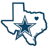 Dallas Cowboys Decal Home State Pride