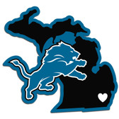 Detroit Lions Decal Home State Pride