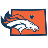 Denver Broncos Decal Home State Pride