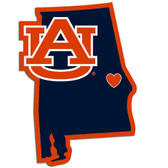 Auburn Tigers Decal Home State Pride Style