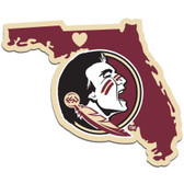 Florida State Seminoles Decal Home State Pride Style