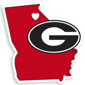 Georgia Bulldogs Decal Home State Pride Style