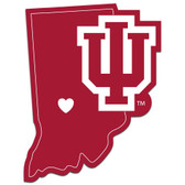 Indiana Hoosiers Decal Home State Pride Style