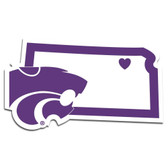 Kansas State Wildcats Decal Home State Pride Style