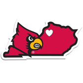 Louisville Cardinals Decal Home State Pride Style