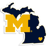 Michigan Wolverines Decal Home State Pride Style