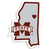 Mississippi State Bulldogs Decal Home State Pride Style