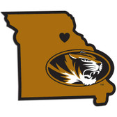 Missouri Tigers Decal Home State Pride Style