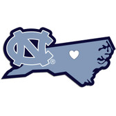 North Carolina Tar Heels Decal Home State Pride Style