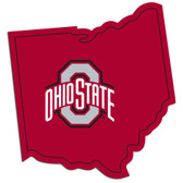 Ohio State Buckeyes Decal Home State Pride Style