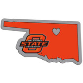 Oklahoma State Cowboys Decal Home State Pride Style