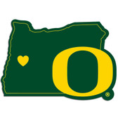 Oregon Ducks Decal Home State Pride Style