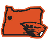 Oregon State Beavers Decal Home State Pride Style