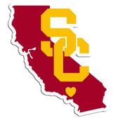 USC Trojans Decal Home State Pride Style