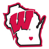 Wisconsin Badgers Decal Home State Pride Style