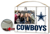 Dallas Cowboys Clip It Weathered Logo Photo Frame