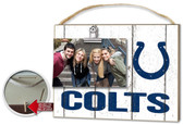 Indianapolis Colts Clip It Weathered Logo Photo Frame