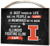 Illinois Fighting Illini Small Plaque - Best Things