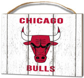 Chicago Bulls Small Plaque - Weathered Logo