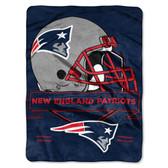 New England Patriots Blanket 60x80 Raschel Prestige Design