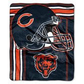 Chicago Bears Blanket 50x60 Raschel Touchback Design