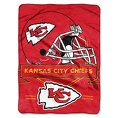 Kansas City Chiefs Blanket 60x80 Raschel Prestige Design