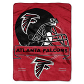 Atlanta Falcons Blanket 60x80 Raschel Prestige Design
