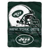 New York Jets Blanket 60x80 Raschel Prestige Design