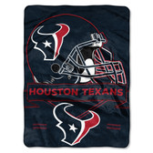 Houston Texans Blanket 60x80 Raschel Prestige Design