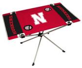 Nebraska Cornhuskers Table Endzone Style