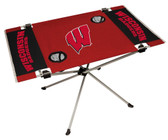 Wisconsin Badgers Table Endzone Style