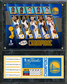 Golden State Warriors 2017 NBA Finals Champions Composite Plaque