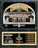 Pittsburgh Penguins 2017 NHL Stanley Cup Champions Plaque