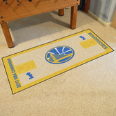 Golden State Warriors 2017 NBA Champions NBA Court Runner 24x44