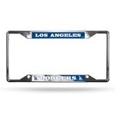 Los Angeles Dodgers License Plate Frame Chrome EZ View