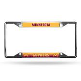 Minnesota Golden Gophers License Plate Frame Chrome EZ View