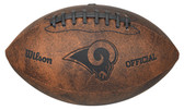 Los Angeles Rams Football - Vintage Throwback - 9 Inches